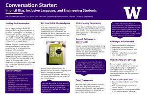 Conversation Starter: Strategies for Incorporating DEI into an Engineering Classroom