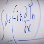 math problem on white board